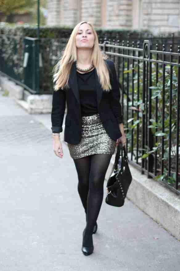 Glitter Skirt 5
