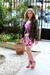 La robe à fleurs fun 1