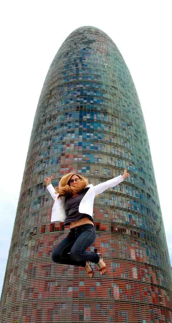 Jump à la Tour Agbar 1