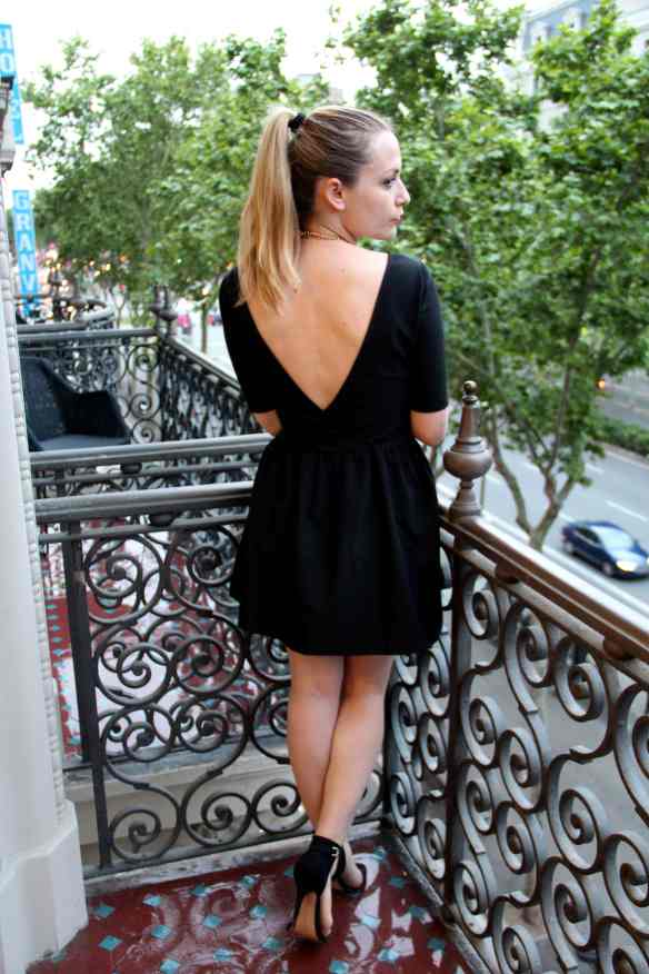 The Little Black Dress à Barcelone 1