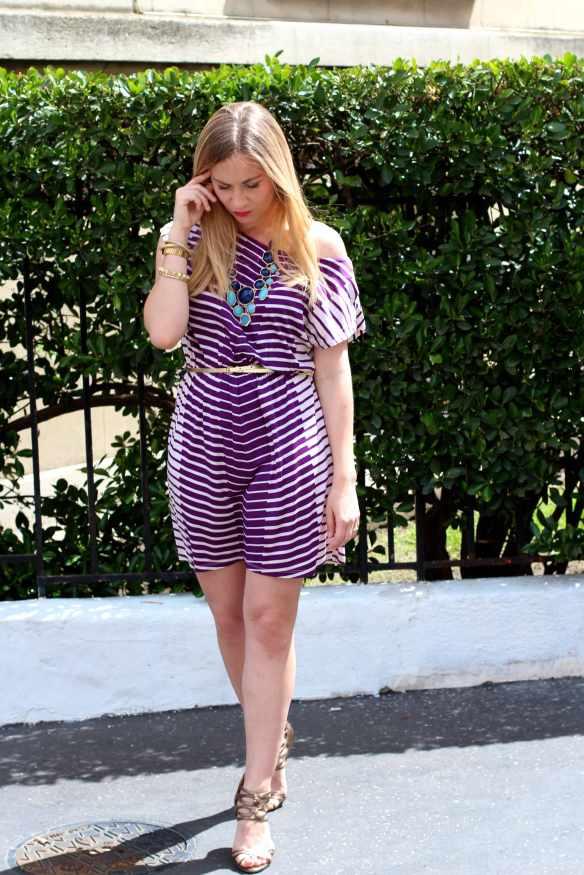 White & Purple Dress 1