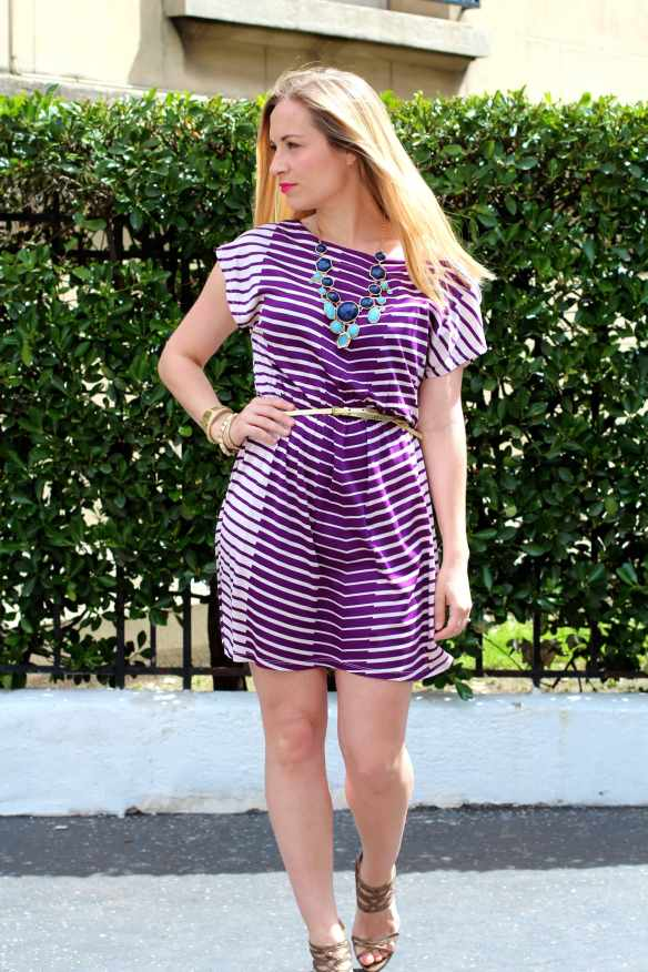 White & Purple Dress 7