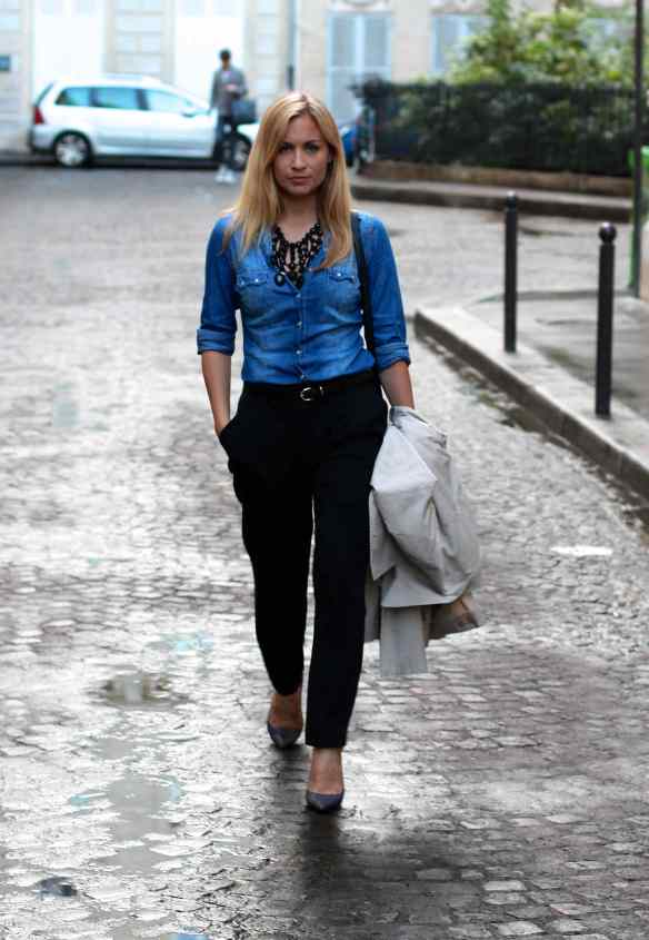 Chemise en Jeans en mode Working Girl 1