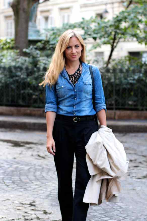 Chemise en Jeans en mode Working Girl 9