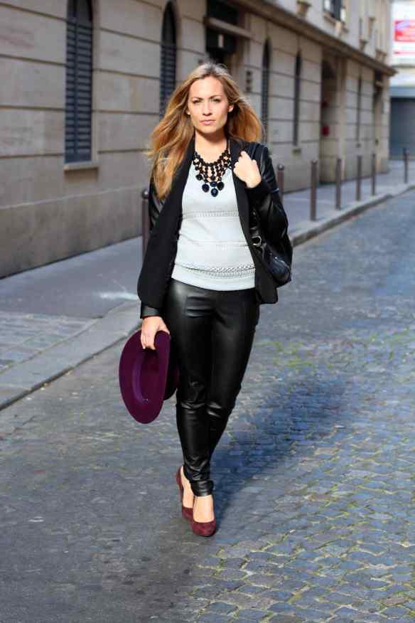 Style Leather, Black & Burgundy 6