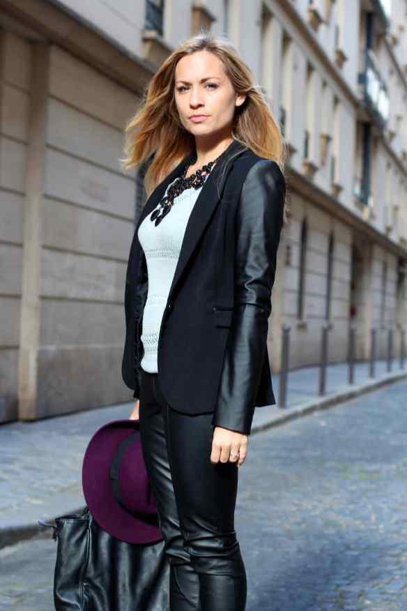 Style Leather, Black & Burgundy 2