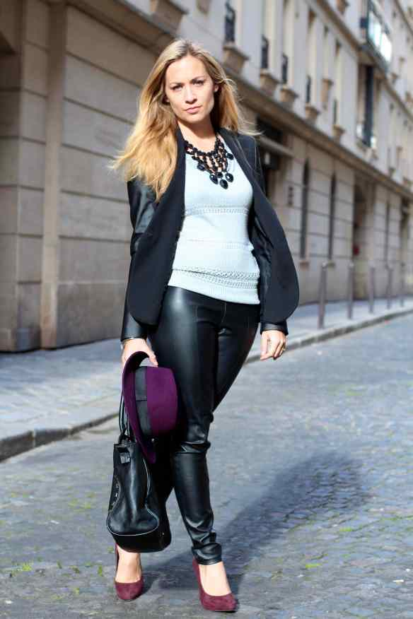 Style Leather, Black & Burgundy 7