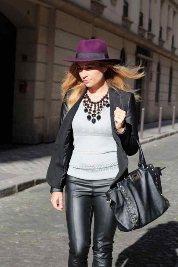 Style Leather, Black & Burgundy 3