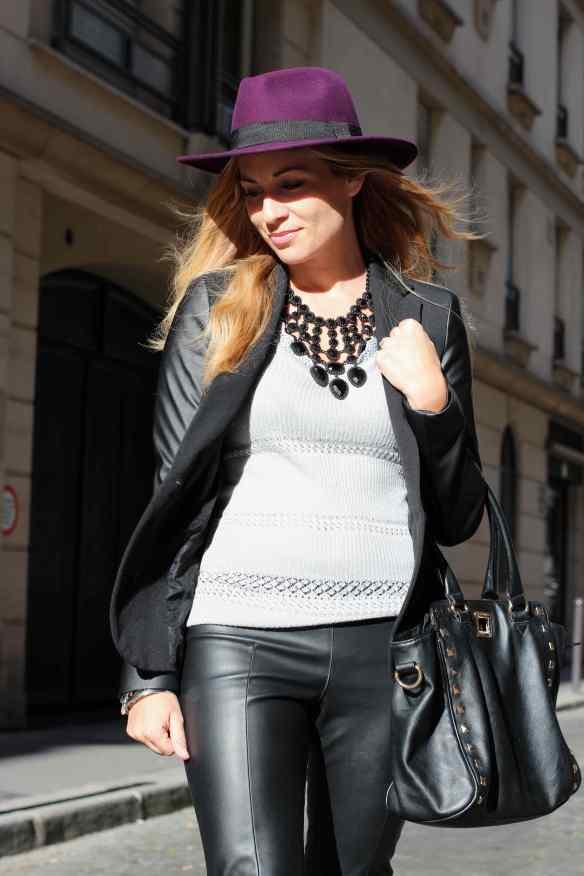 Style Leather, Black & Burgundy 4