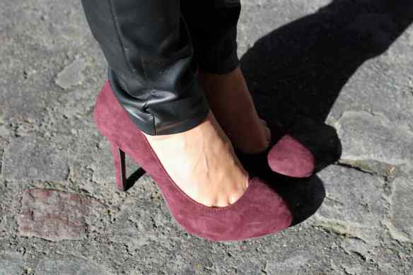 Style Leather, Black & Burgundy 9