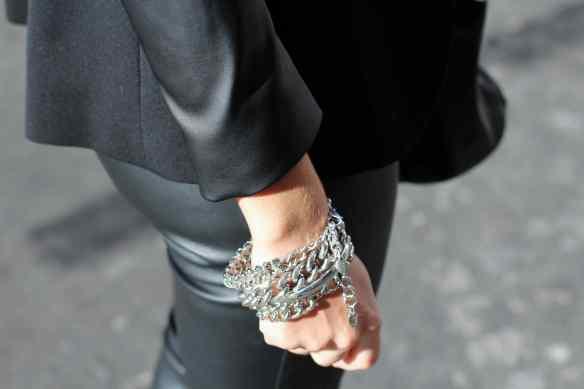 Style Leather, Black & Burgundy 8