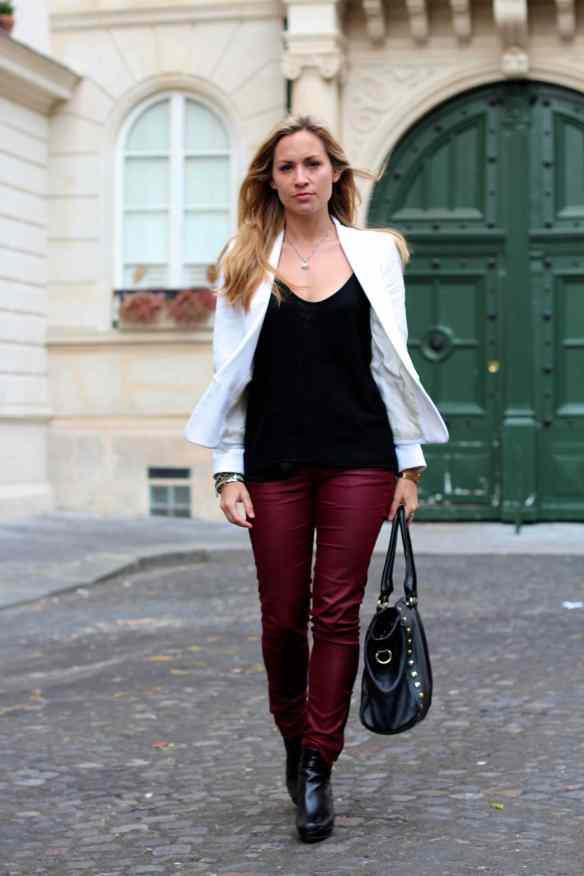 Style d'automne et du bordeaux blog mode 3