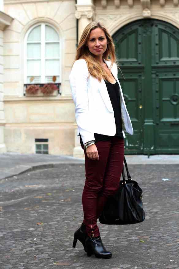 Style d'automne et du bordeaux blog mode 2