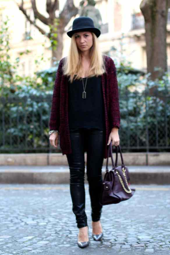 La mode en Black & Bordeaux, again! BLOG MODE 3