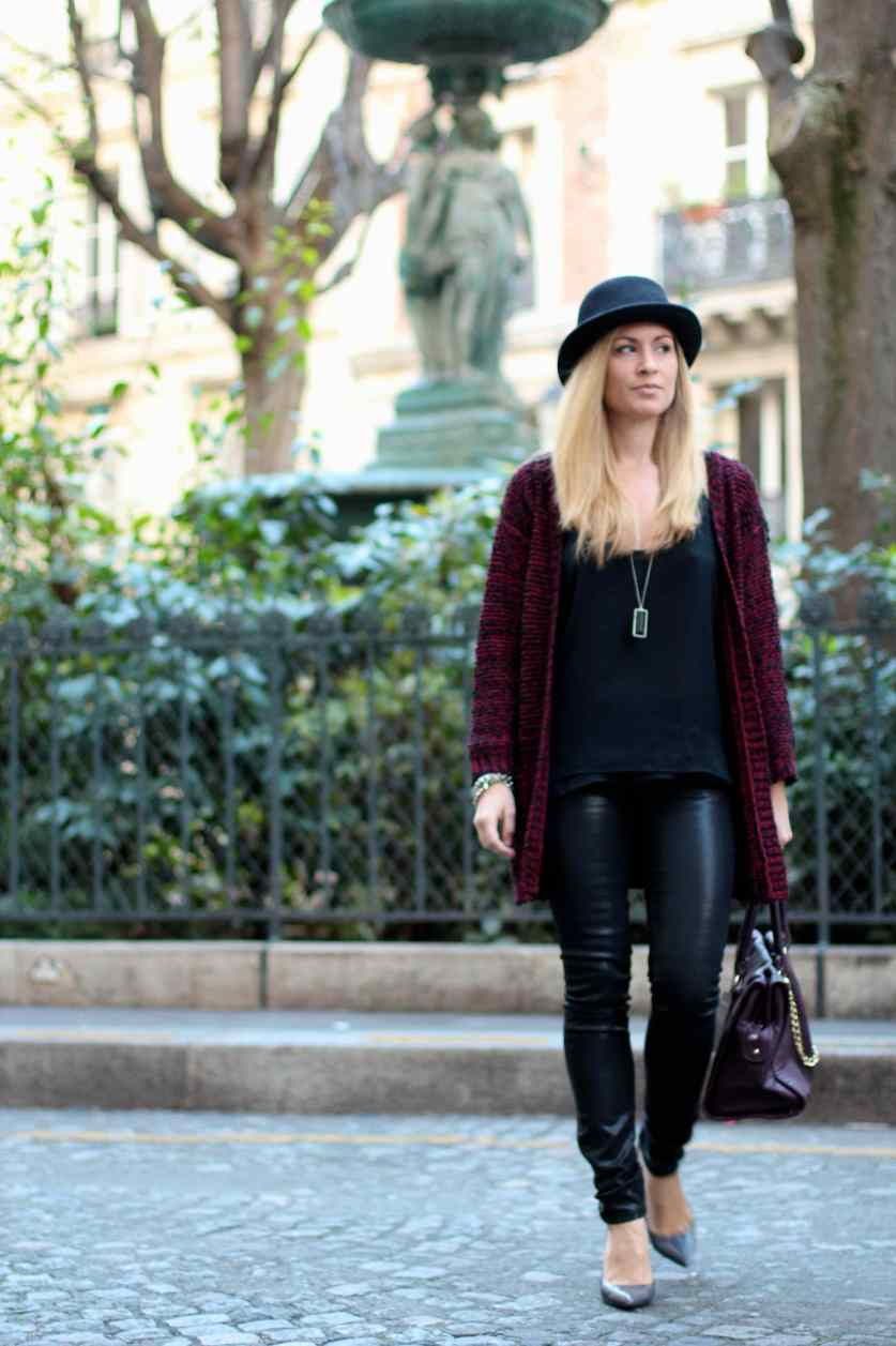 La mode en Black & Bordeaux, again! BLOG MODE 2