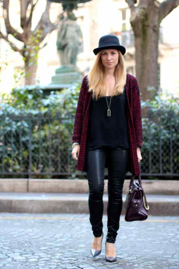La mode en Black & Bordeaux, again! BLOG MODE 1