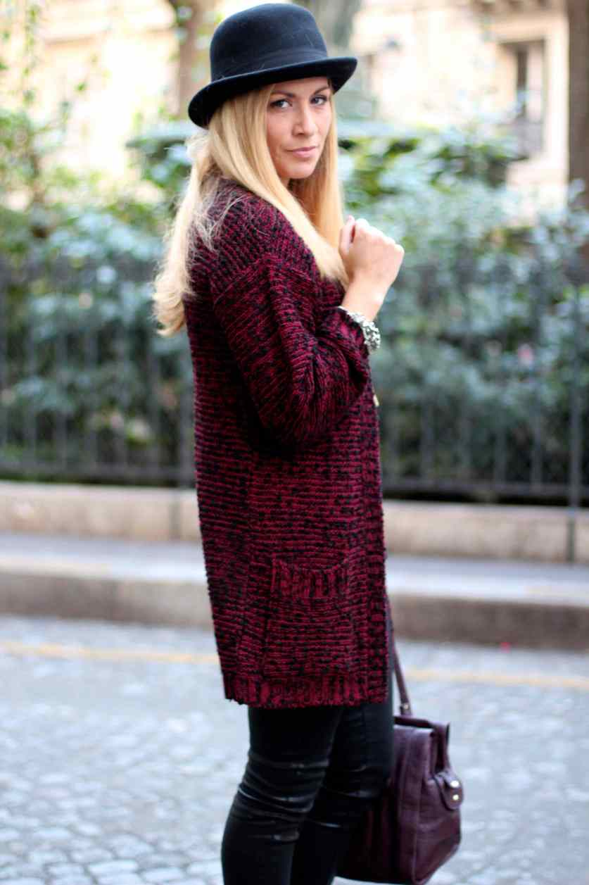 La mode en Black & Bordeaux, again! BLOG MODE 8
