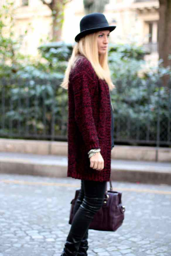 La mode en Black & Bordeaux, again! BLOG MODE 7