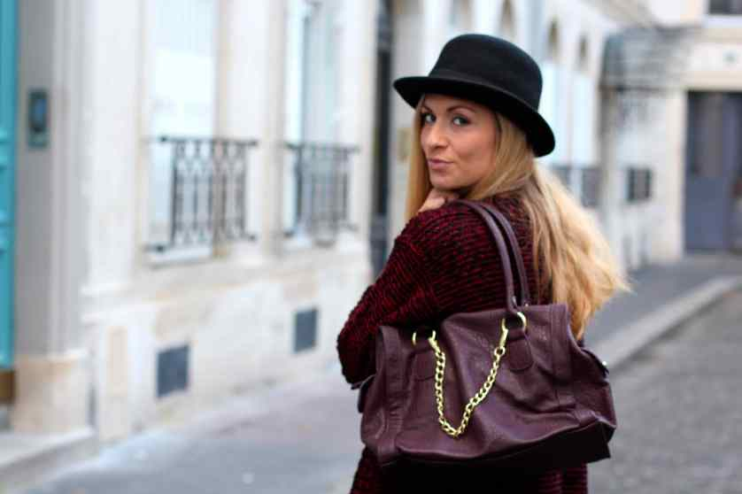 La mode en Black & Bordeaux, again! BLOG MODE 12
