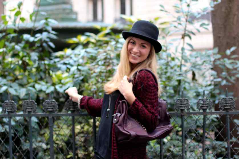 La mode en Black & Bordeaux, again! BLOG MODE 10