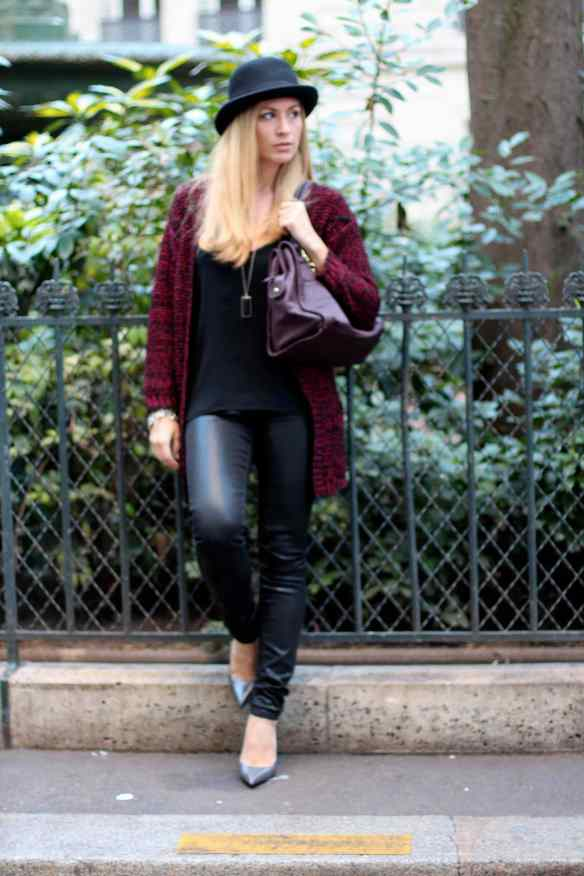 La mode en Black & Bordeaux, again! BLOG MODE 11