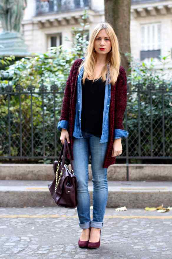 Burgundy is the new Black ! 1