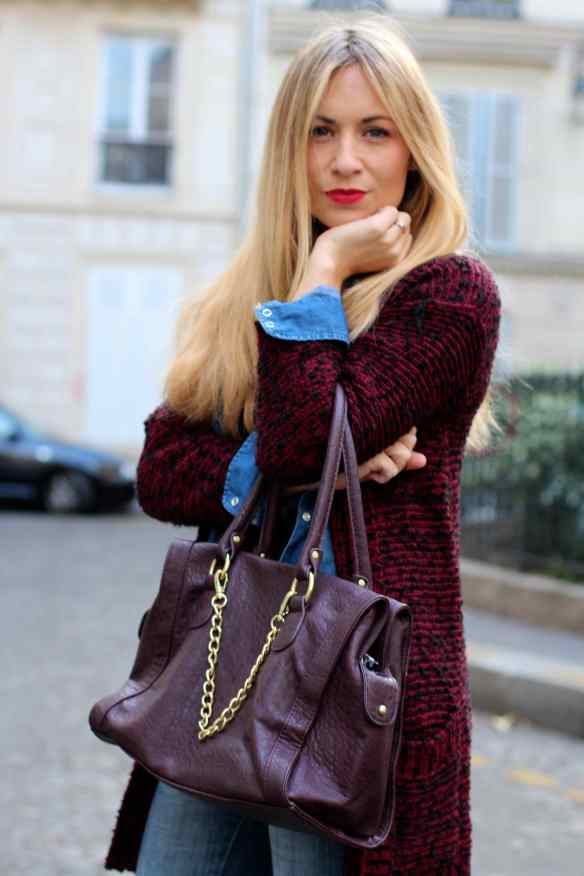 Burgundy is the new Black ! 8