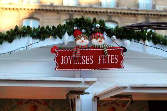 Ambiance de Noël dans les Grands Magasins de Paris 2