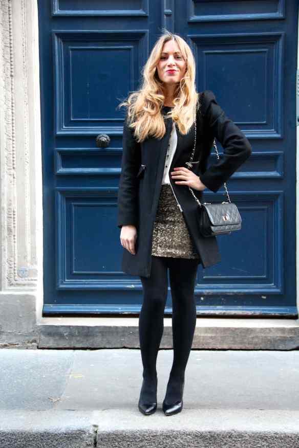 Comment porter une jupe à paillettes sans en faire trop! 6