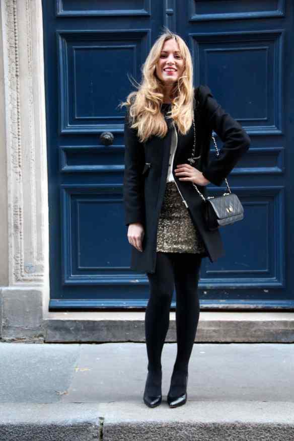 Comment porter une jupe à paillettes sans en faire trop! 8