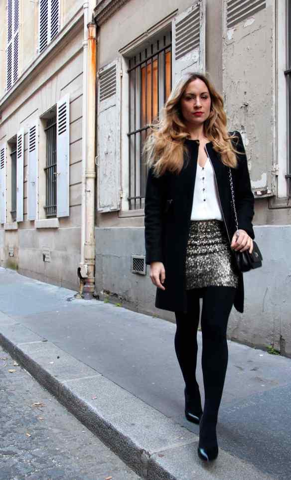 Comment porter une jupe à paillettes sans en faire trop! 9