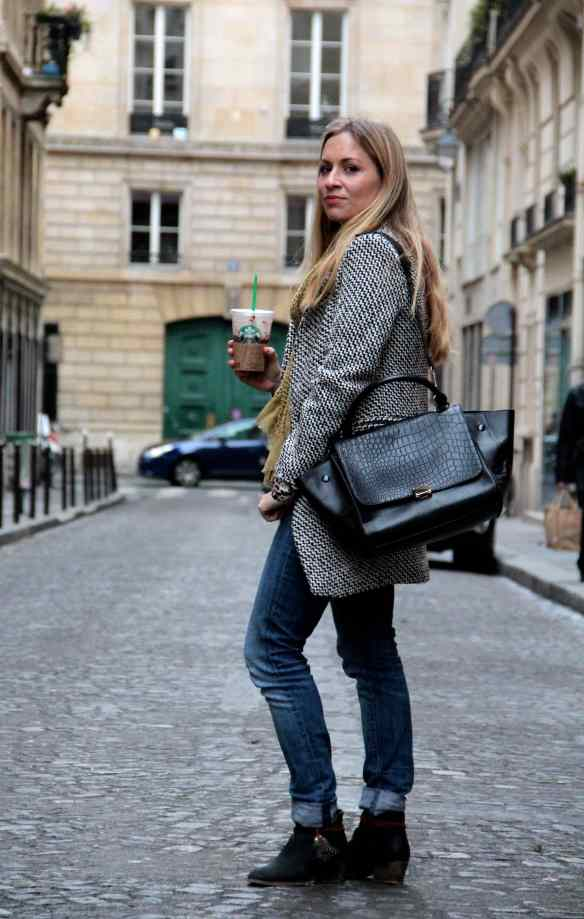 Casual style: Jeans Boots & Coat 6