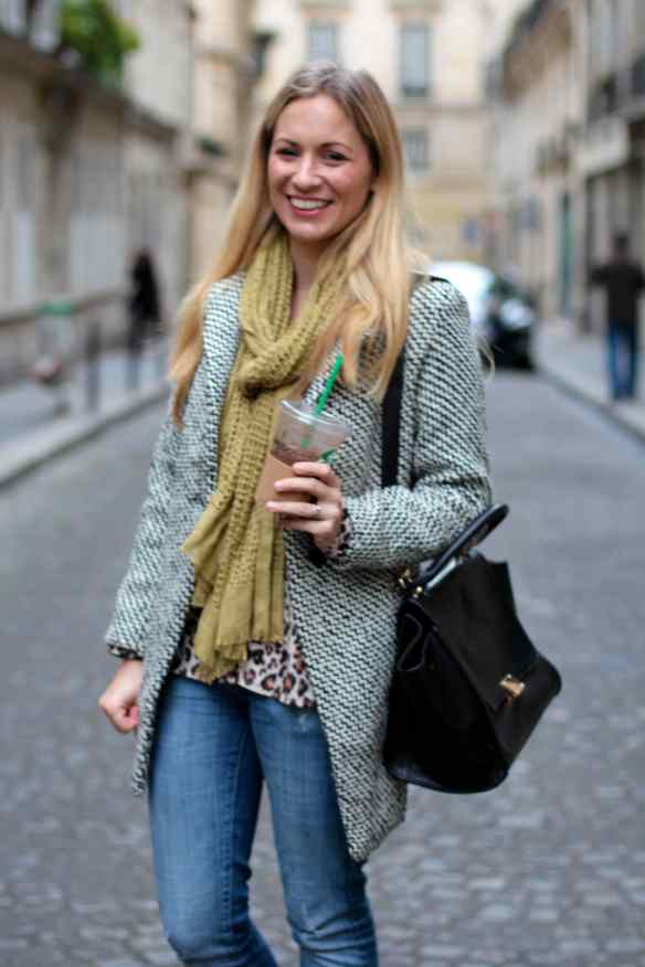 Casual style: Jeans Boots & Coat 4