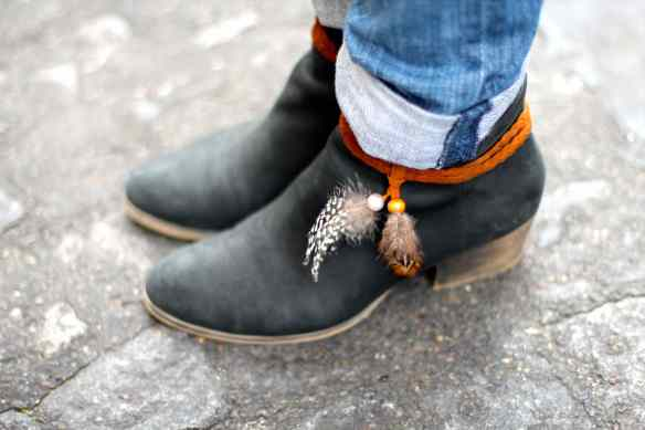 Casual style: Jeans Boots & Coat 5