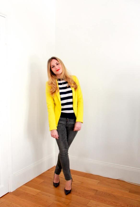Stripes Sailor & Yellow 2