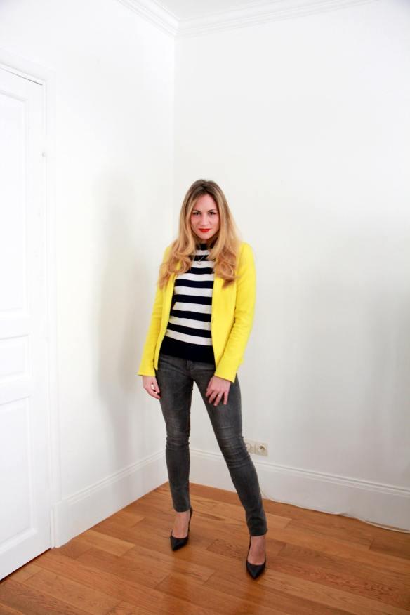 Stripes Sailor & Yellow 1