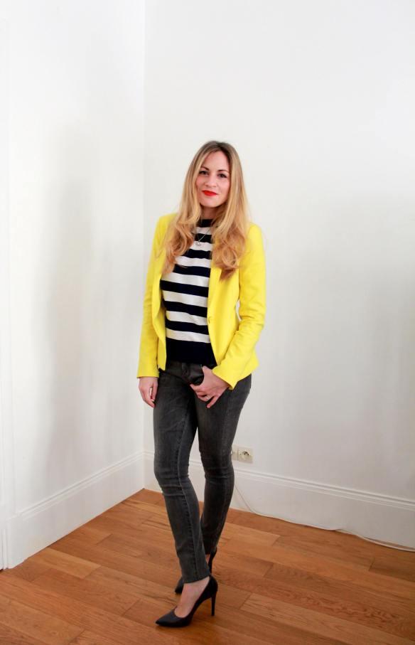 Stripes Sailor & Yellow 9
