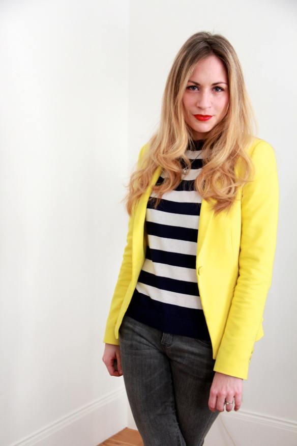 Stripes Sailor & Yellow 3