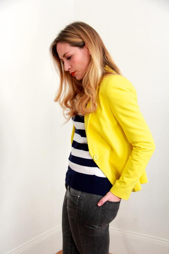 Stripes Sailor & Yellow 4
