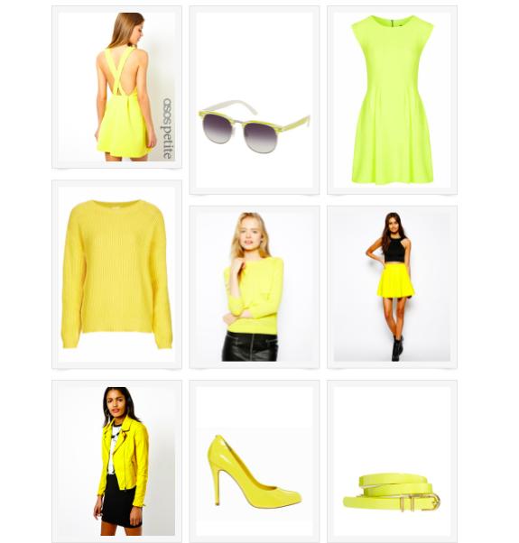 Yellow shopping 1