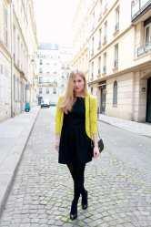 Une petite robe noire et une touche de citron 7