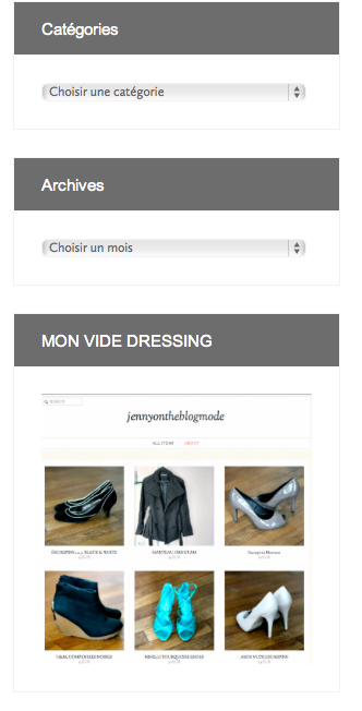Nouveau Blog - VIDE DRESSING