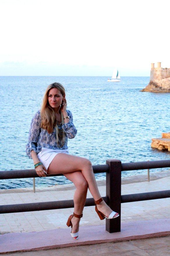 En bleu et Blanc à Malte 3