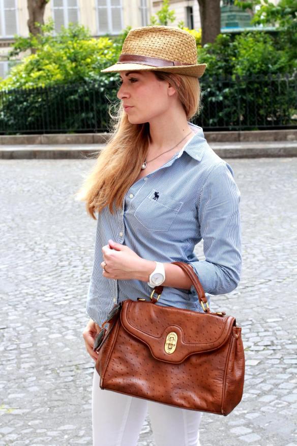 Casual & Preppy dans Paris jennyontheblogmode jeans H&M Chemise Abercrombie