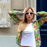 Cool & Féminine dans Paris jennyontheblogmode jeans boyfriend heels