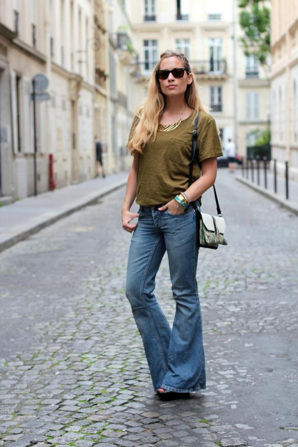 That's 70 Pant jennyontheblogmode patte d'eph
