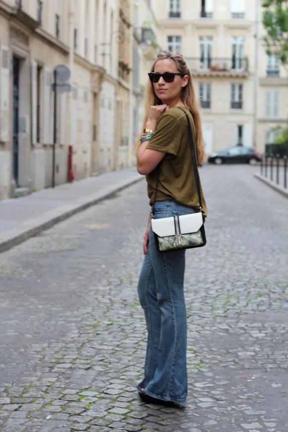 That's 70 Pant jennyontheblogmode jeans patte d'eph