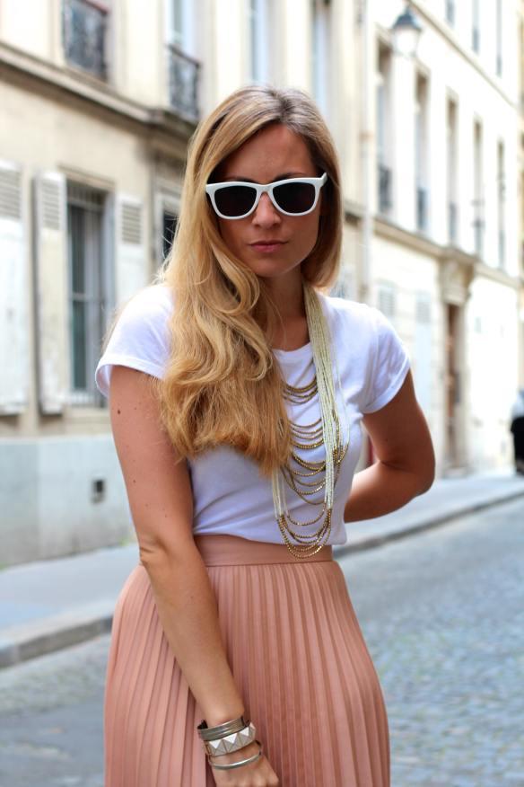 Chic Citadine et Bohème jennyontheblogmode blogmode fashionblog jupe zara
