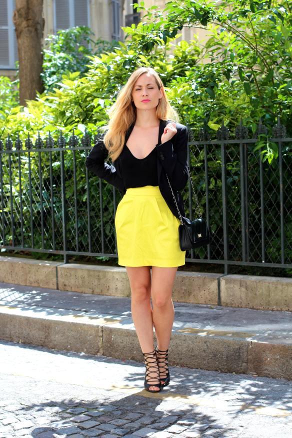 Une Jupe Raj(au)nissante - jennyontheblogmode blog mode fashion blog jupe zara shoes