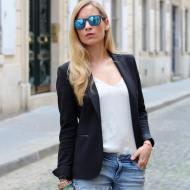 Je vois la vie en Bleu Jennyontheblogmode Afflelou Fashionblog blogmode